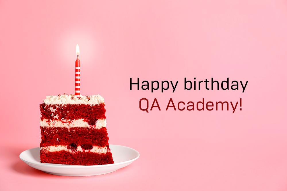 QA Academy - 7 years old